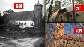 Vesnici Pelhřimovy zničili, lidi odsunuli: Zapomenutý kostel zachránili nadšenci