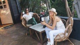 Těhotná topmodelka Petra Němcová se pochlubila bydlením: Luxus v džungli Hollywoodu!