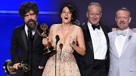 Rozdávaly se ceny Emmy: Chyběl moderátor! Bodovala Potvora, Hra o trůny i Černobyl