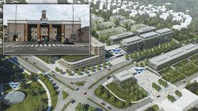 Výstavba u metra v Krči: Nonstop poliklinika před areálem nemocnice?
