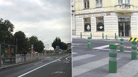 """""""Ať si tyhle šílenosti zkouší na Sedmičce,"""" zní z radnice Prahy 6. Nelíbí se jí změny v Patočkově"""