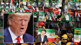 """""""Válčit umí kdokoli,"""" hřímal Trump. Íránu nedovolí žádné jaderné zbraně"""