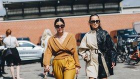 Podzimní trendy podle týdnů módy: Tohle vynesly nejstylovější ženy!