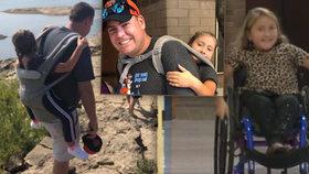Dojemná péče učitele: Invalidní dívku (10) nesl na zádech, aby si poprvé užila školní výlet