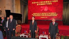 Číňané už se zase zlobí. Naštval je projev Kubery na oslavě Tchaj-wanu