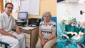 Marii (82) zachránila život unikátní operace srdce! A už druhý den šla domů! Komu zákrok pomůže?