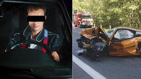 """Policie vyslechla Vojtěcha z """"mustangu smrti"""": Řekl, jak zemřel Jakubů (†49)"""