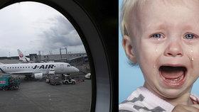 Řvoucí dítě v letadle? Aerolinky vymyslely vychytávku, která vás ušetří hororu