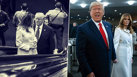 """""""Úhybný manévr"""" Melanii nevyšel. Američané nepochybují o žalobě na Trumpa, první dámě se smějí"""