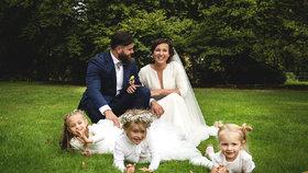 Lucie Šilhánová se vdala! Překvapivá slova o svatební noci