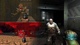 Trojnásobný masakr plný vyhřezlých střev! Recenze Doom 1, 2, 3