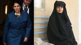 """""""Domů se nikdy nevrátí!"""" Nevěsta ISIS dostala od ministryně jasný vzkaz"""