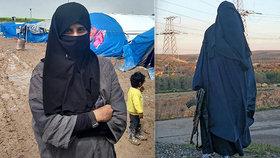 """Dohazovala ženy džihádistům, teď chce zpět do Evropy. """"Jsem jiná,"""" tvrdí nevěsta ISIS"""