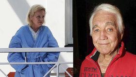 Krampolova manželka v blázinci: Zavřená na separaci! Už to nešlo jinak
