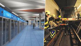 Plány pražského dopravního podniku: Na lince C postaví bezpečnostní stěny. Ubude skokanů pod metro?
