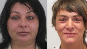 Juliana (52) a Michaela (37) zmizely: Bydlí na Karlovarsku, nejspíš jsou v Praze mezi bezdomovci