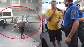 Opilec (24) na koloběžce sejmul na Václaváku skupinu turistů! Padali jako kuželky, žena se zranila