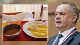 """Exprezident Kiska podstoupil operaci srdce. A ukázal, jak mu sestřičky """"podstrojují"""""""