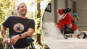 Nikdy jsem nepoznal, jaké to je chodit, říká Zdeněk (39), který se narodil bez nohou! Dnes válí na ledu