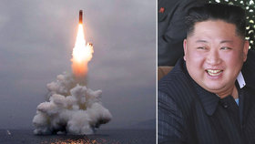 KLDR úspěšně odpálila střelu z ponorky, slaví Kim Čong-un. Ostatní jsou znepokojení