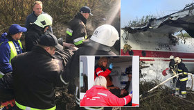 Pět mrtvých při nouzovém přistání: Letadlu došlo palivo 2 kilometry od letiště