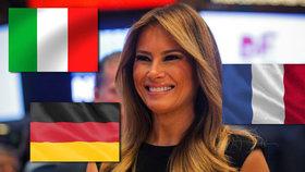 Melania Trump ovládá 5 jazyků? Odborník zapochyboval nad schopnostmi první dámy