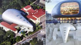 Ostravu ozdobí nová koncertní hala: Bude vypadat jako kosmická loď!