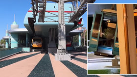 V Disney Worldu do sebe narazilo pět kabin na lanovce: Lidé zůstali viset 18 metrů nad zemí!