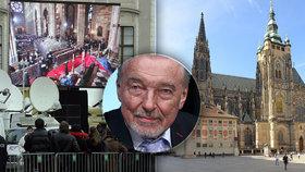 Pohřeb Karla Gotta: Rekviem na obří obrazovce?!