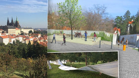 """Petice nepomohla! Na Petříně začali stavět """"záchodky pro turisty"""". Pokáceli kvůli tomu stromy, rozčilují se místní"""