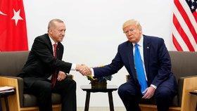 Erdogan potvrdil schůzku s Trumpem. Prezidenti se setkají za týden ve Washingtonu