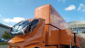Kamion budoucnosti přijel do Brna: Na světě jich jezdí jenom sedm