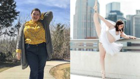 Tahle balerína razí myšlenku body positive! Nemusíte trpět hlady, říká