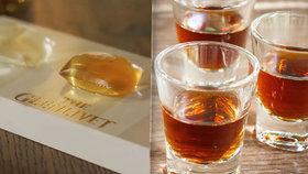 Barman Alex Kratěna vytvořil unikátní kapsle s whisky: Skotové se bouří