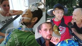 Táta od rodiny Honza (27) skončil po fraktuře páteře v kómatu: Navzdory prognózám vstal z mrtvých