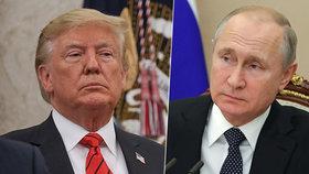 Putina Trumpův twitterový kanál nezajímá. Ruský prezident nemá ani mobil