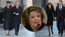 """Babiš podal hlášení z pohřbu Gotta, Bohdalová ho """"odrovnala"""". A jeho hříšníci se """"káli"""""""