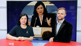 Jourová na Hrad? Eurokomisařka nevyloučila kandidaturu. Promluvila i o sebevraždě