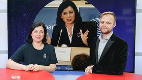 Vysílali jsme: Nejvlivnější Češka v EU. Jak Jourová ochrání zájmy Česka?
