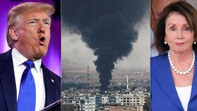 """Trumpovo jednání o Sýrii ukončil záchvat vzteku. """"Nebuďte tvrďák,"""" napsal pak Erdoganovi"""