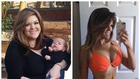 Kvůli obezitě nemohla otěhotnět. Dnes se raduje z dvojčat a váží 45 kilo!