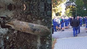 Kvůli letecké pumě evakuovala policie v Kunovicích 1300 lidí. Šlo o poválečnou pumu