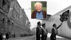 """Před nacisty prchl, aby je pomohl porazit. """"Chtěl jsem u toho být,"""" říká Tomáš Lom (95), hrdina britského letectva"""