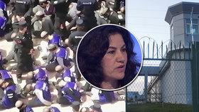 Sestru jí zavřeli do převýchovného tábora. O mučení a útlaku Číny promluvila žena v Praze