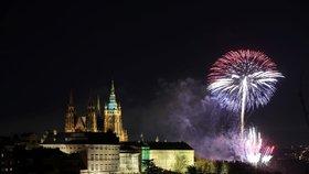 Novoroční ohňostroj odpálí v Praze 2: Potrvá 12 minut, organizátoři potřebují čtvrt milionu