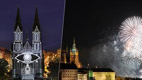 Novoroční ohňostroj v Praze bude: Odpálit se může z Folimanky, schválila Praha 2. Zasvětí ho Gottovi