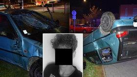 Martin (17) srazil dvě dívky (14): Ujížděl policii, jednu oběť vláčel pod autem
