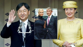 "Japonský císař usedne na trůn, doprovodí ho ""smutná"" císařovna i Babiš s Monikou"