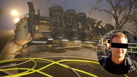 Táta (†37) od rodiny zemřel v Německu: Vítek uhořel v kamionu, nestihli ho vytáhnout