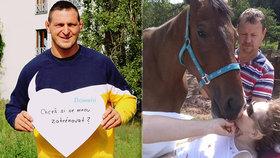 Iva po pádu z koně ochrnula, 20 minut ji oživovali! Přítel popsal otřesnou nehodu